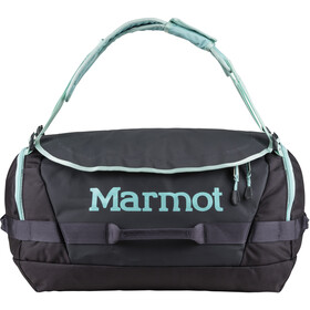 Marmot Long Hauler Duffel Bag Medium, dark charcoal/blue tint